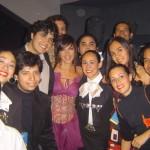 Con Ana Torroja