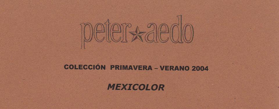 Fashion show Peter Aedo. Pasalera Gaudí
