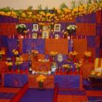 altar de muertos de La Octavio Paz