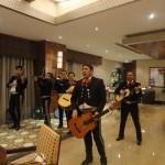 Actuando en directo en Turquía