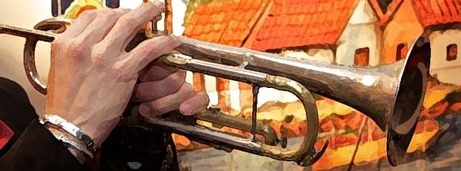 trompeta player
