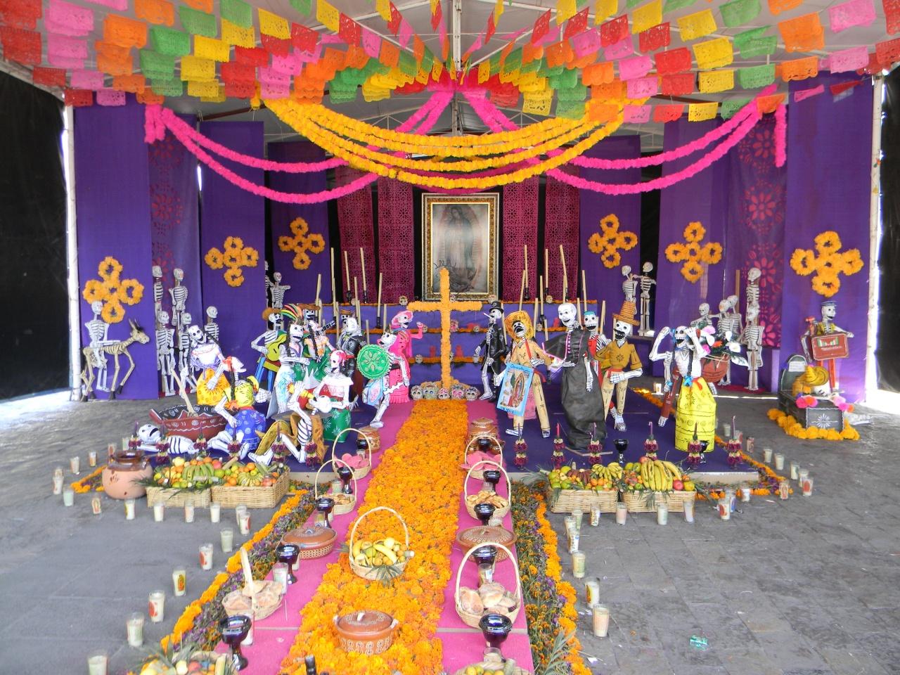 Decoracion Altar De Muertos ~ Altar de muertos ? Una tradici?n mexicana