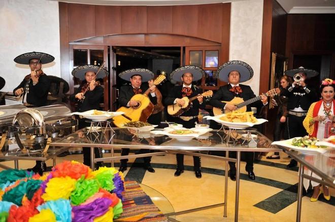 La inauguración de la semana de México